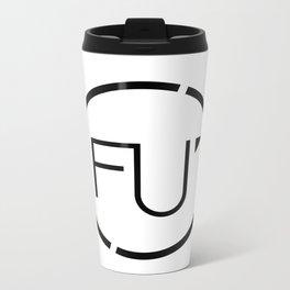 FU Metal Travel Mug