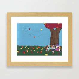 A Bosom Friend Framed Art Print