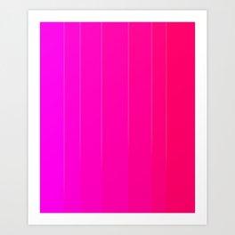 Variety Pink Art Print
