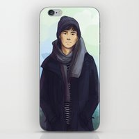 jem iPhone & iPod Skins featuring Jem Carstairs by taratjah