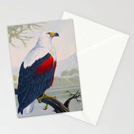 FISH EAGLE Stationery Cards