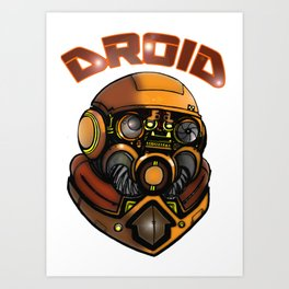 DROID77 Art Print