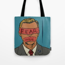 The Fear Hate Factor Tote Bag