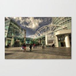 Bull Ring Shopping  Canvas Print