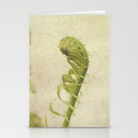 fern Stationery Cards featuring Fern by Pure Nature Photos