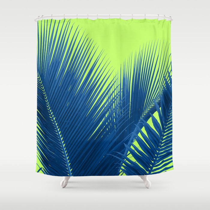Lets Go Lime Shower Curtain By Creativevibe