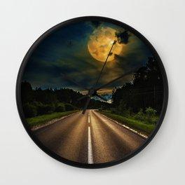 Full Moon #1 Wall Clock