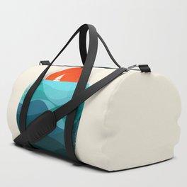 Deep blue ocean Duffle Bag