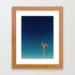 Palm Trees Los Angeles Framed Art Print