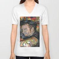 patrick V-neck T-shirts featuring patrick by rAr : Art by Robyn Ashley Rosner