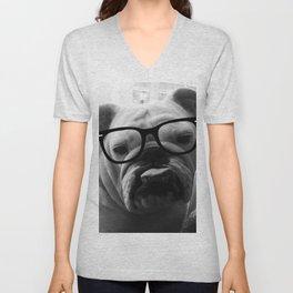 Hipster Matilda Unisex V-Neck