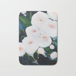 Abstract Rose Garden Bath Mat