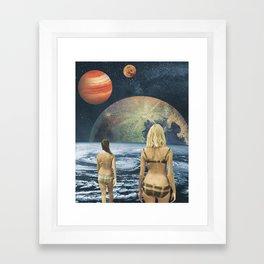 Celestial Bodies Framed Art Print