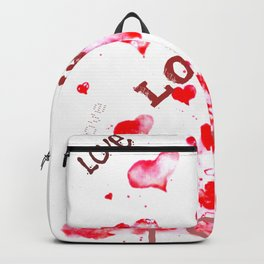 Love is all around Backpack
