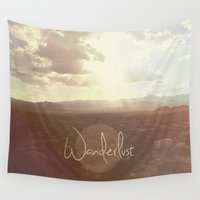 wanderlust Wall Tapestries featuring Wanderlust by Ed Burczyk