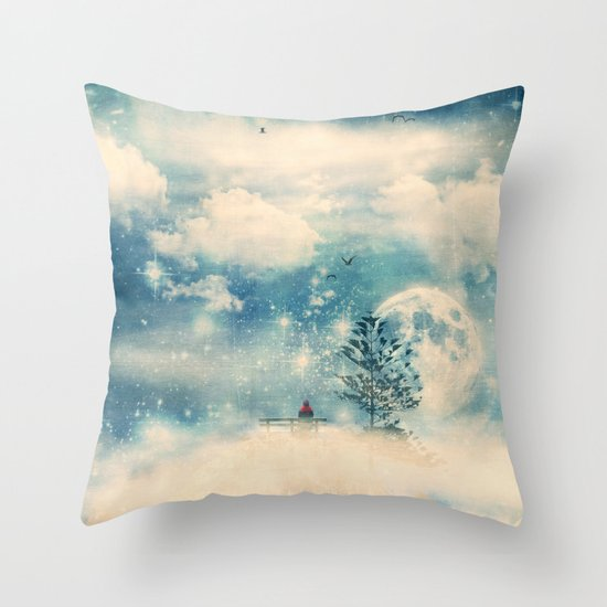 I know a place... Throw Pillow