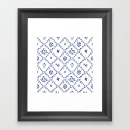 Clue in the Garden Patches Framed Art Print