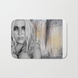 I want you in my life Bath Mat