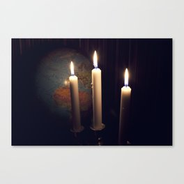 Dreaming in december Canvas Print