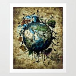 Geo Art Print
