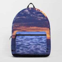 Flaming Clouds Backpack