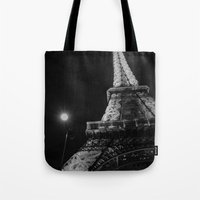eiffel Tote Bags featuring Eiffel by Envibe Photography