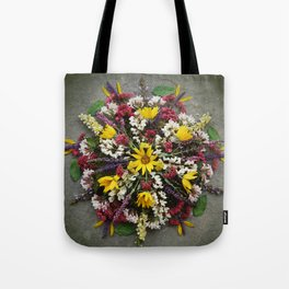 Nature Mandala: May Tote Bag