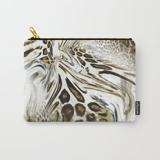 Trend Leopard Pattern Carry-All Pouch