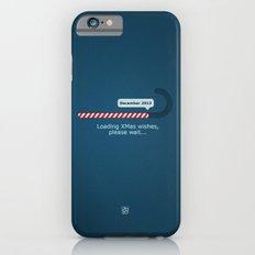 XMAS Wishes preloader iPhone 6s Slim Case