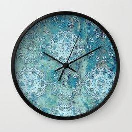 Moors Patina Mandalas Wall Clock