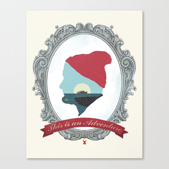 This Is An Adventure - Zissou Canvas Print