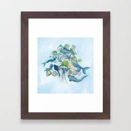 Atlantis Underwater World Framed Art Print