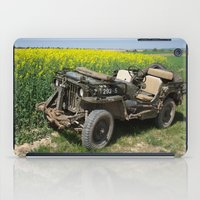 jeep iPad Cases featuring Willys MB Jeep by EMangl