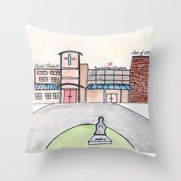 Rachel, SHA, Custom order Throw Pillow
