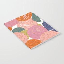 Flowers In Full Bloom Notebook