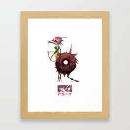 P S-Y Framed Art Print