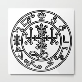 Seal of Satan Metal Print