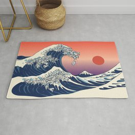 The Great Wave of Maltese Rug