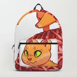 Kitten On Yan Backpack