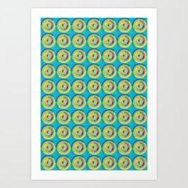 Circled Sapes Art Print