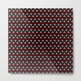 Art Deco pattern Metal Print