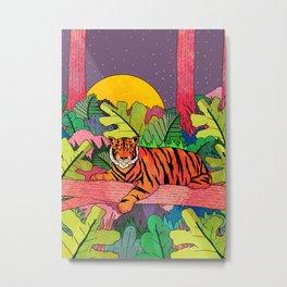 Spring Jungle Metal Print
