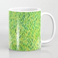 Watercolor Grass Pattern Green by Robayre Mug
