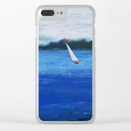 Catch the Wind Clear iPhone Case
