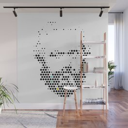 Marx in Dots Wall Mural