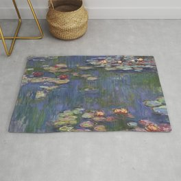 Water Lilies (Nymphéas), c.1916 Art, Monet Rug