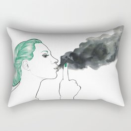 Silence Rectangular Pillow