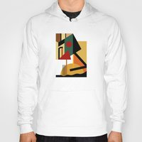kandinsky Hoodies featuring THE GEOMETRIST by THE USUAL DESIGNERS