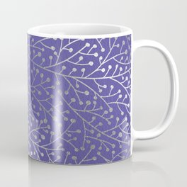 Periwinkle Berry Branches Coffee Mug