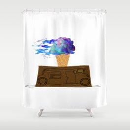 Ice Cream Truck Shower Curtain